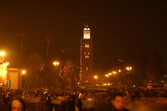 Marrakech, the heart of the city